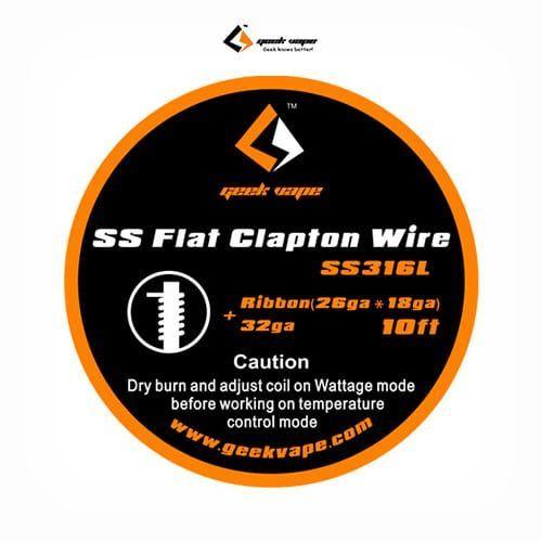 Flat-Clapton-Wire-Ribbon-SS316L-Tapervaper