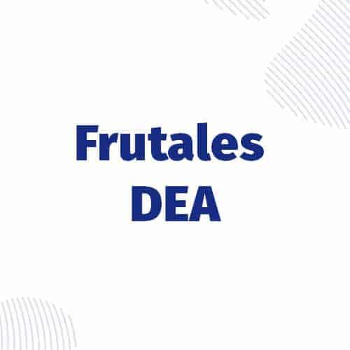 Frutales (DEA)