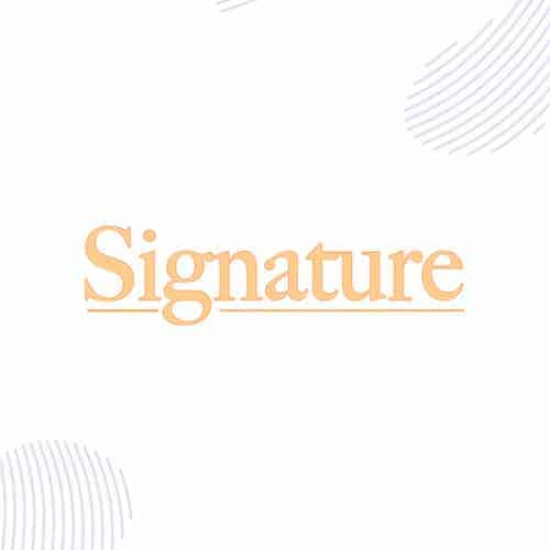 Signature Series (Drops)