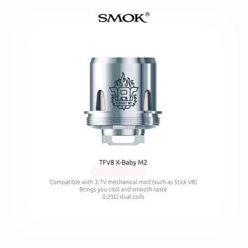 Resistencia-Smok-TFV8-X-Baby-M2-Tapervaper