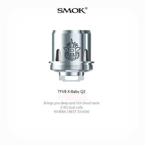 Resistencia-Smok-TFV8-X-Baby-Q2-Tapervaper