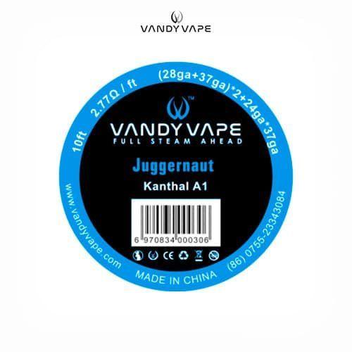 Vandyvape-Bobina-Kanthal-Juggernaut-(28AWG+37AWG)x2+24AWGx37AWG-Tapervaper