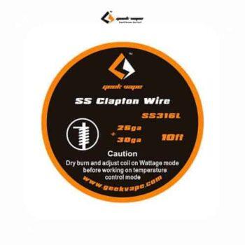 Geekvape-Bobina-SS-Clapton-Wire-26GA-30GA-Tapervaper