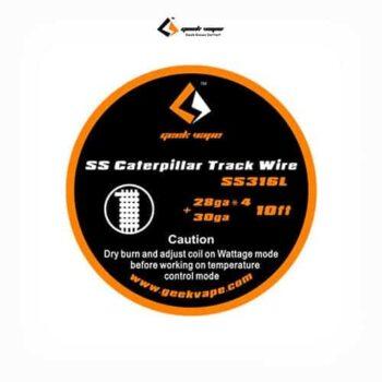 Geekvape-Bobina-SS316-Caterpillar-Track-28GAx4+30GATapervaper