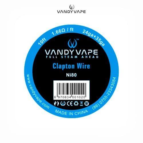 Vandyvape-Bobina-Clapton-Ni80-24AWG+35AWG-Tapervaper