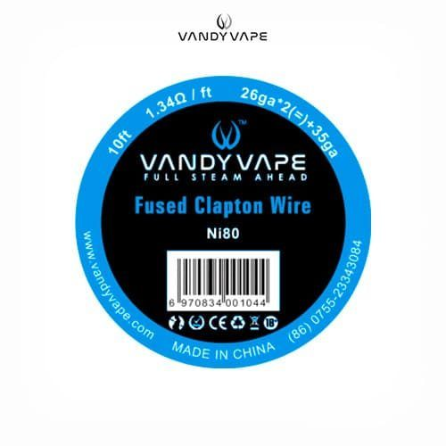 Vandyvape-Bobina-Fused-Clapton-Ni80-26AWGx2+35AWG-Tapervaper