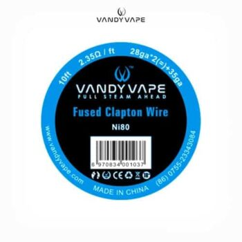 Vandyvape-Bobina-Fused-Clapton-Ni80-28AWGx2+35AWG-Tapervaper