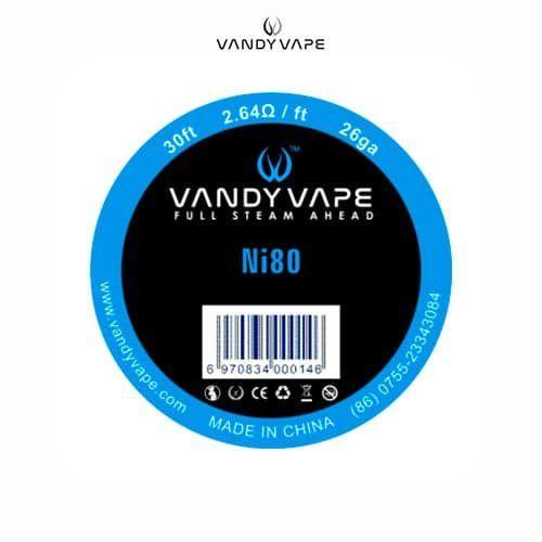 Vandyvape-Bobina-NI80-26AWG-Tapervaper