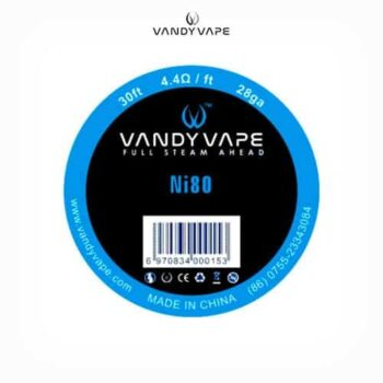 Vandyvape-Bobina-NI80-28AWG-Tapervaper