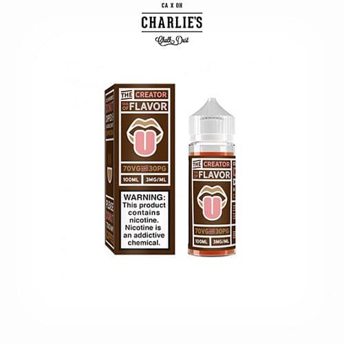 Donut-Cappuccino-The-Creator-of-Flavor-Booster-Charlies-Chalk-Dust-Tapervaper