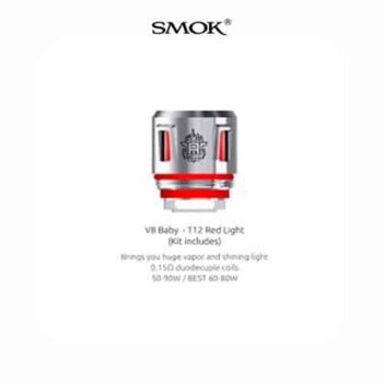 Smok-Resistencia-V8-Baby-T12-Red-Light--Tapervaper