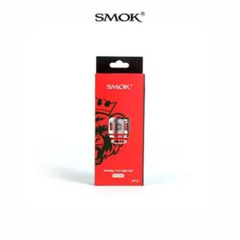 Smok-Resistencia-V8-Baby-T12-Red-Light-Tapervaper