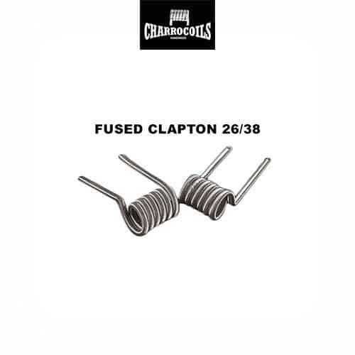 Resistencia-Fused-Clapton-Electrónico-Charro-Coils-Tapervaper