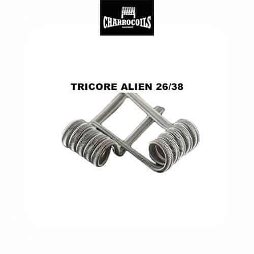 Resistencia-Squonk-Alien-Mecánico-Charro-Coils-Tapervaper