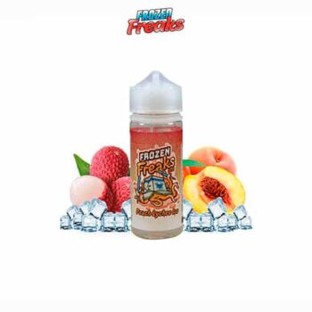 Peach-and-Lychee-Ice-Booster-100ml-Frozen-Freaks-Tapervaper