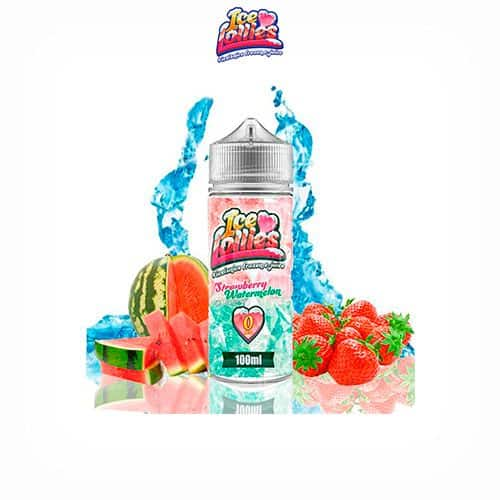 Strawberry-Watermelon-Booster-100ml-Ice-Love-Lollies-Tapervaper