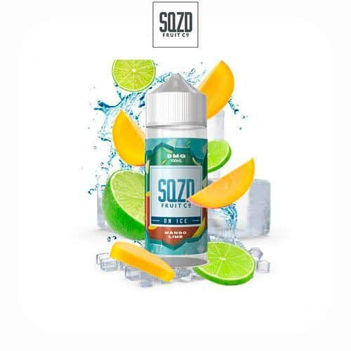 Mango-Lime-On-Ice-Booster-100ml-SQZD-Fruit-Co-Tapervaper