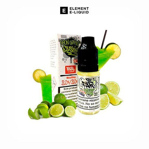 Nic-Salt-Neon-Green-Slushie-Designer-Element-Tapervaper
