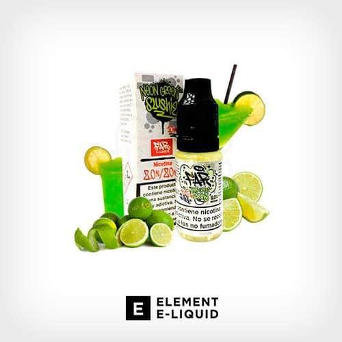 Nic-Salt-Neon-Green-Slushie-Designer-Element-Yonofumo-Yovapeo