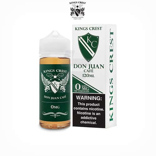 Don-Juan-Café-(Booster-100ml)-Kings-Crest-Tapervaper