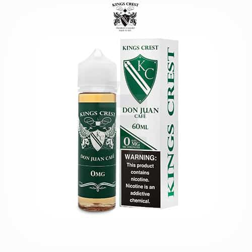 Don-Juan-Café-(Booster-50ml)-Kings-Crest-Tapervaper