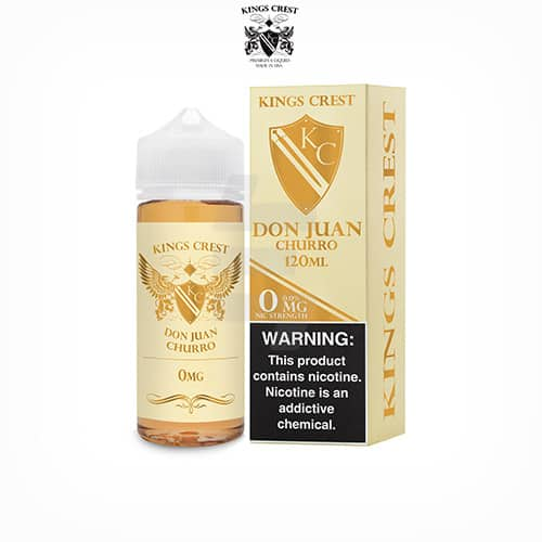 Don-Juan-Churro-(Booster-100ml)-Kings-Crest-Tapervaper