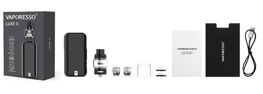 kit luxe 2 vaporesso imagen contenido productos ecigs