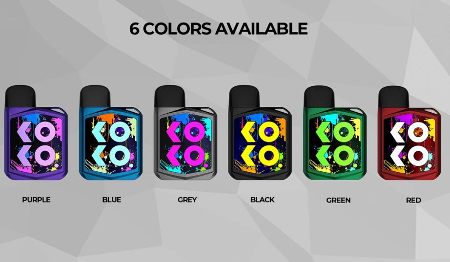 Colores disponibles de Uwell Koko Prime: