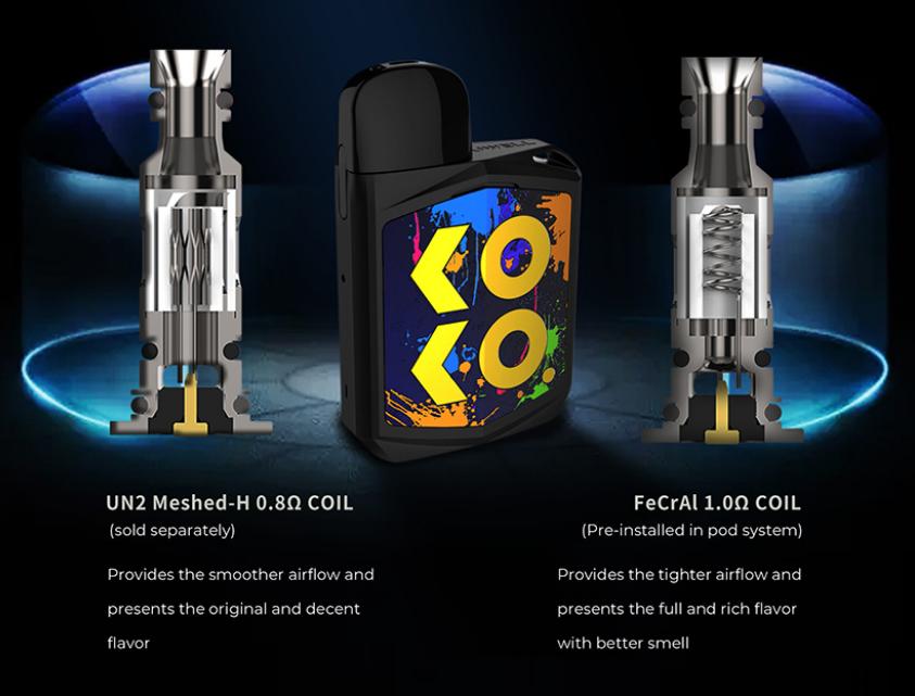 Resistencias compatiblesde Uwell Koko Prime: