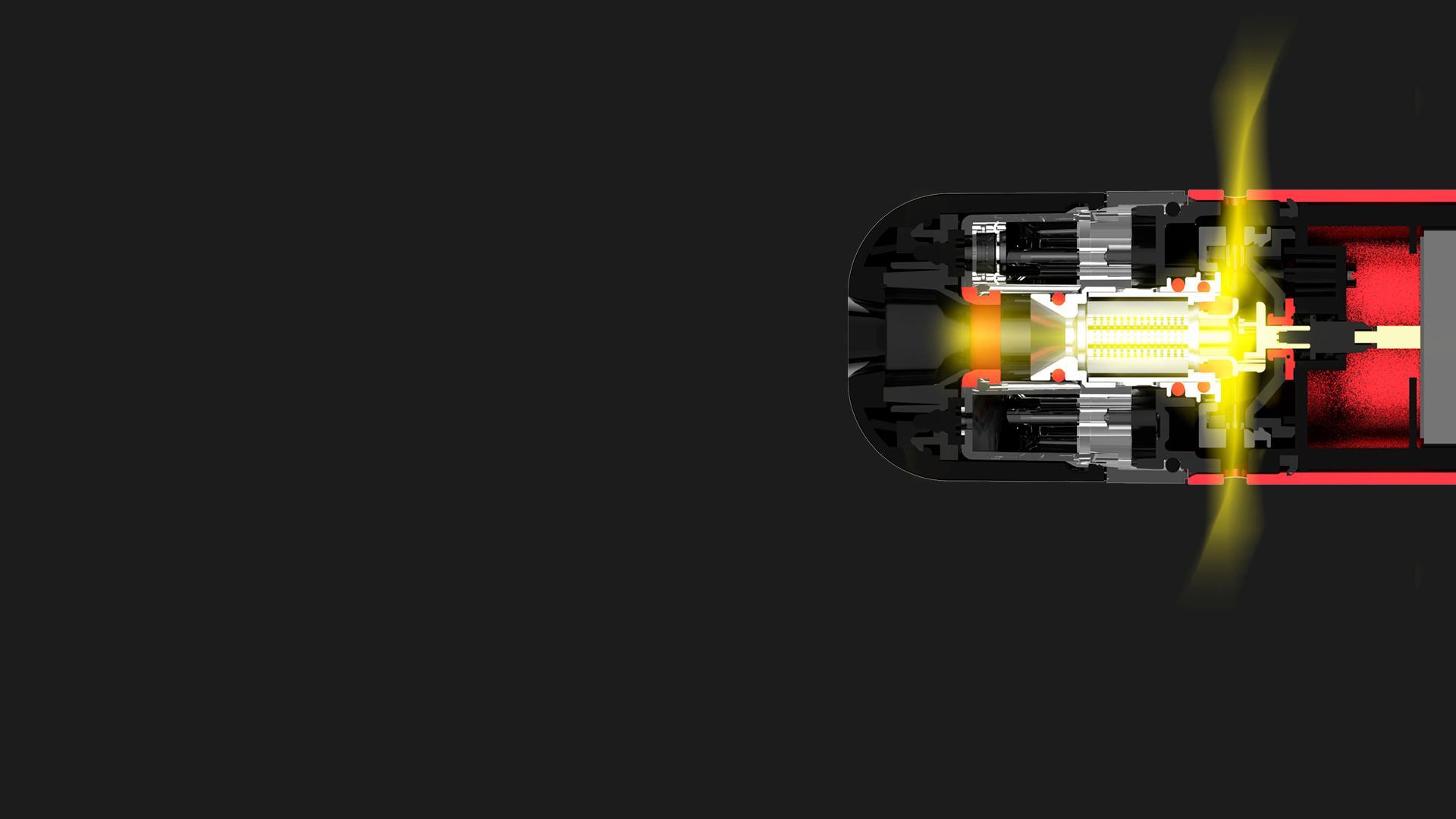 Tecnología patentada de autolimpieza para reducir las fugas