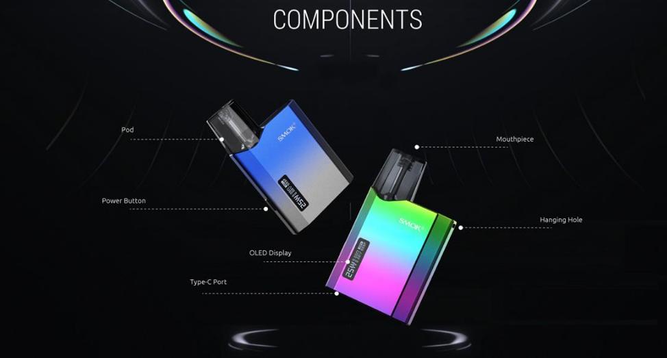 Componentes Smok Nfix Mate